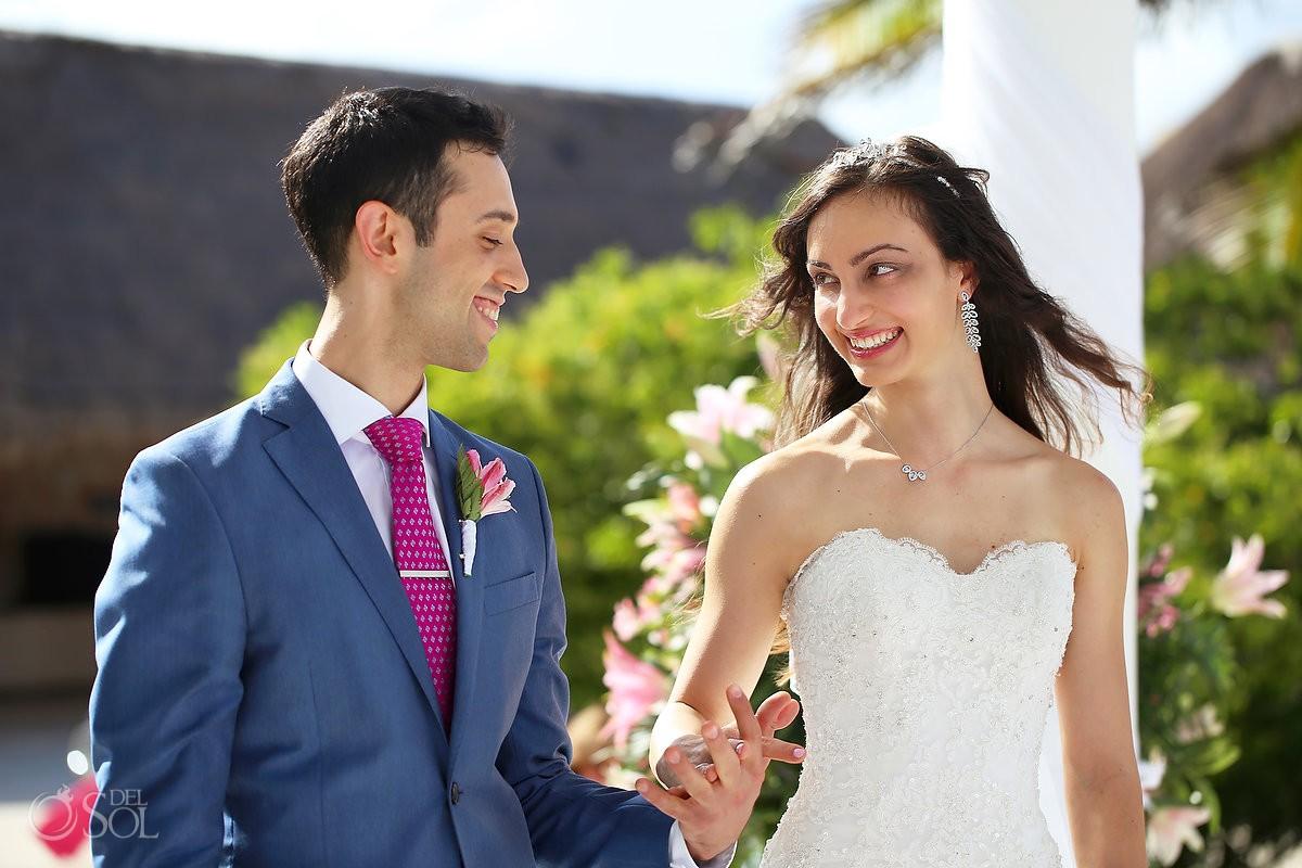 bride and groom Wedding at Grand Palladium