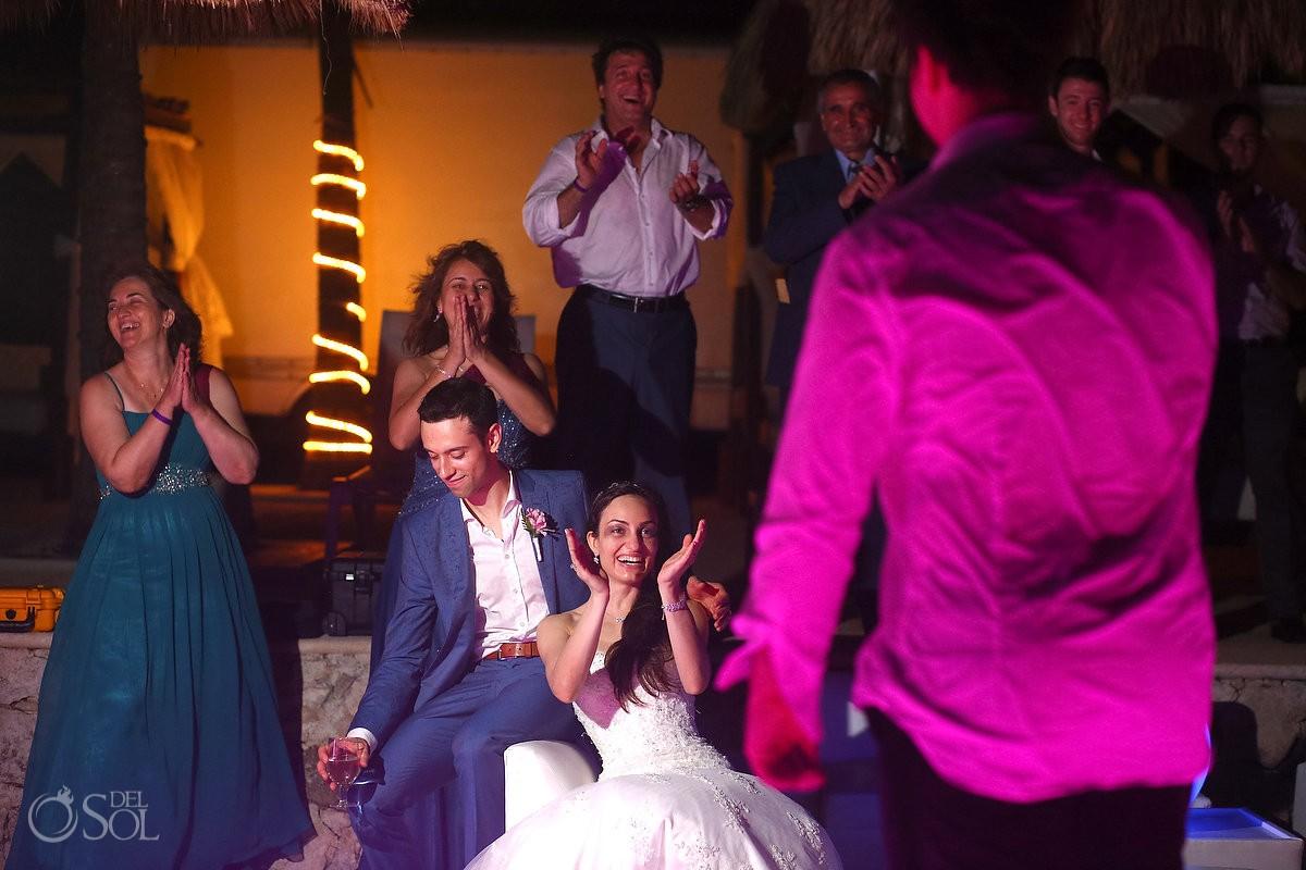 wedding reception at Grand Palladium