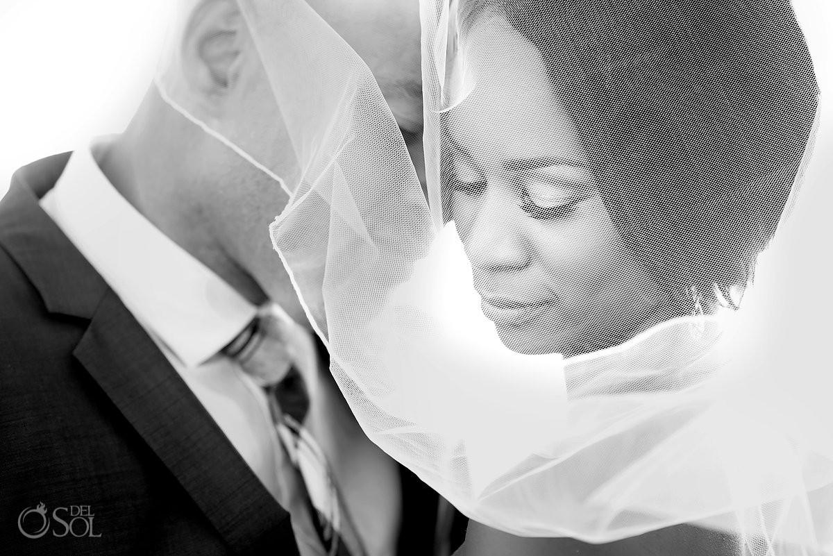 Hard rock riviera Maya beach Wedding bride and groom
