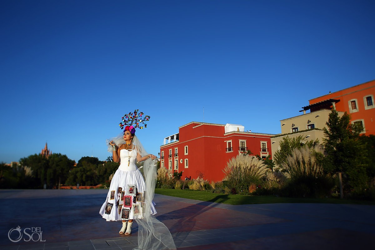Mexican Bride La Novia de Mexico Rosewood Hotel, San Miguel de Allende