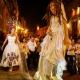 Mexican Bride La Novia de Mexico Tree of life Mojigangas San Miguel de Allende fiesta