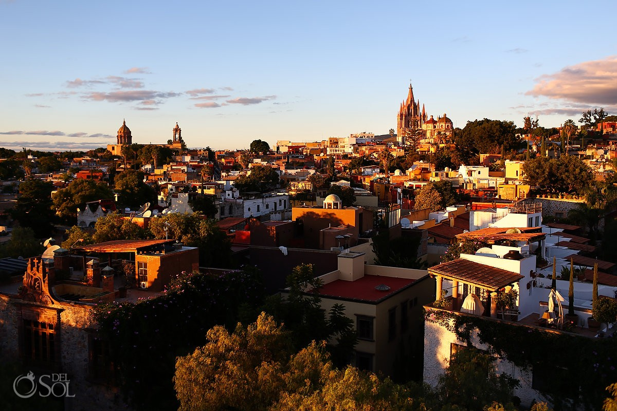 San Miguel de Allende view sunset