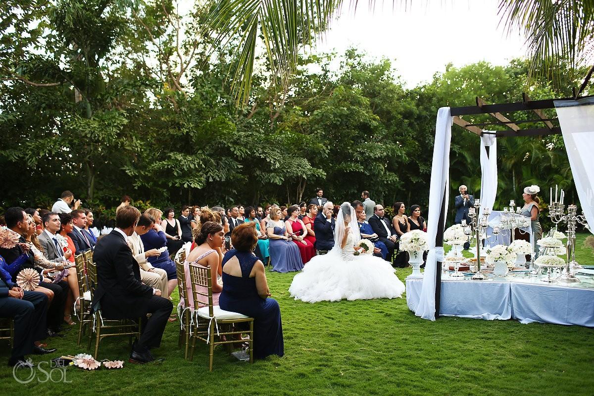 aghd Persian garden Wedding Rosewood Mayakoba, Playa del Carmen, Mexico