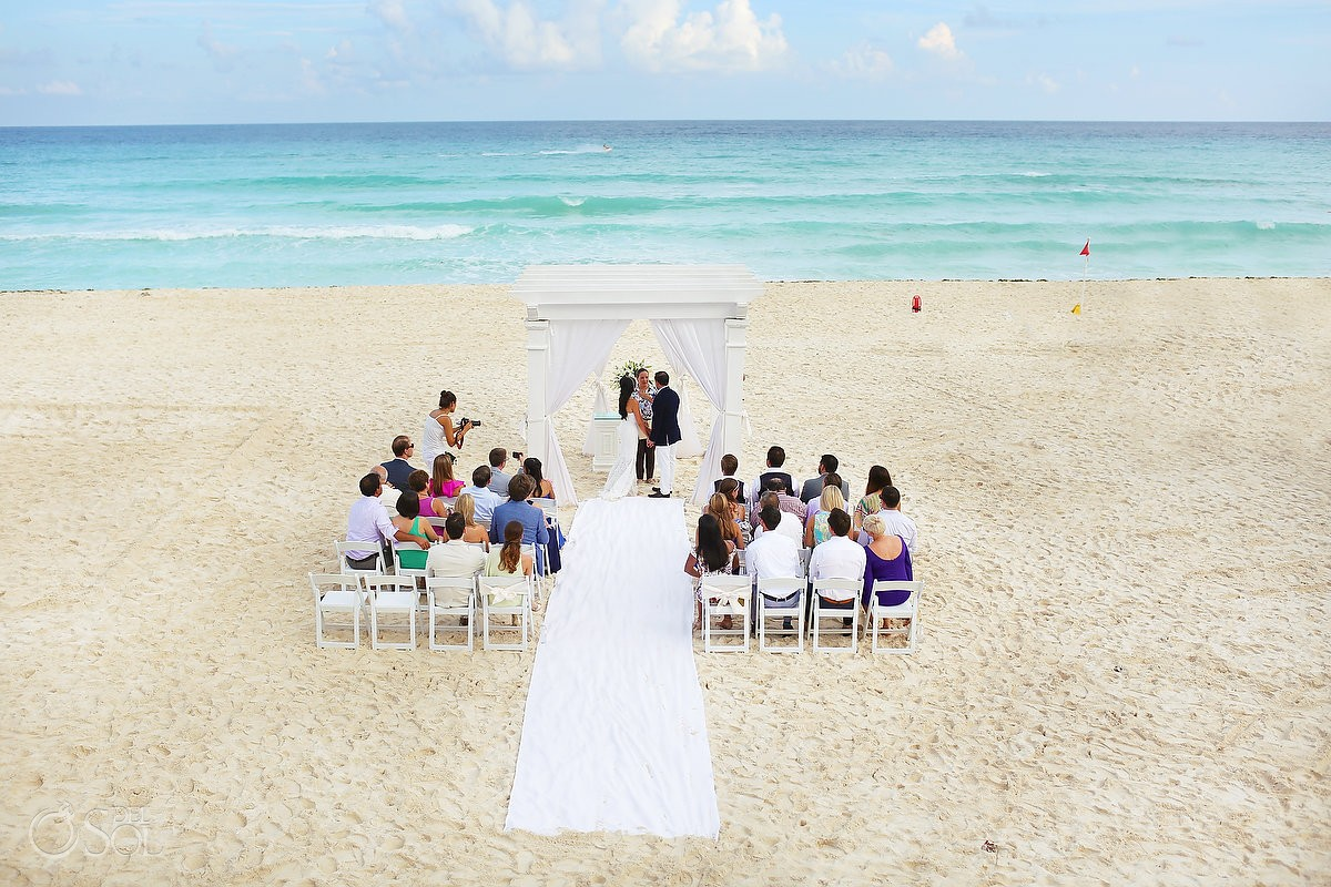 Secrets the Vine Beach Wedding Ceremony