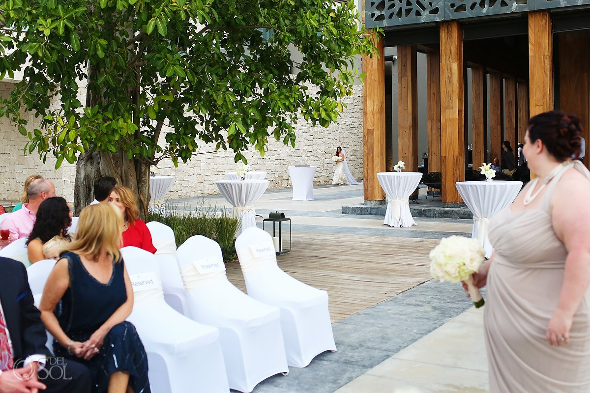 Nizuc akan terrace wedding suzanne and michael for Terrace wedding