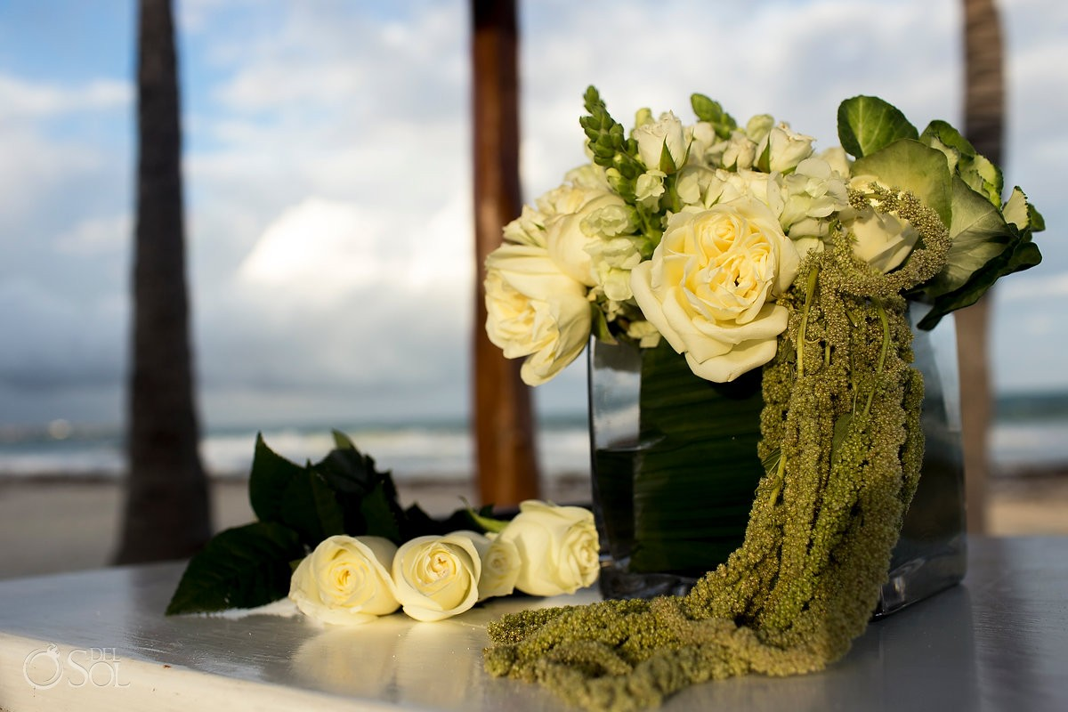 wedding day memorial tribute dead parents Secrets Maroma, Riviera Maya, Mexico