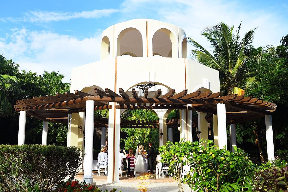 Wedding Ceremony Gazebo Valentin Imperial Maya, Playa del Carmen, Mexico
