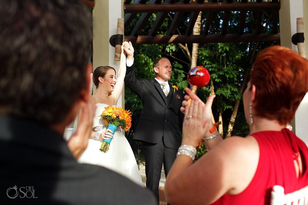 maracas Wedding Ceremony Gazebo Valentin Imperial Maya, Playa del Carmen, Mexico