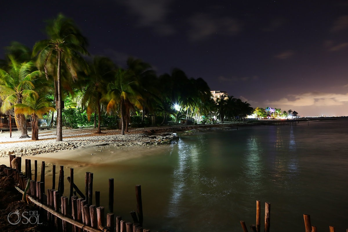 beautiful north beach on isla mujeres mexico
