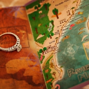 wedding ring on destination wedding map of the riviera maya