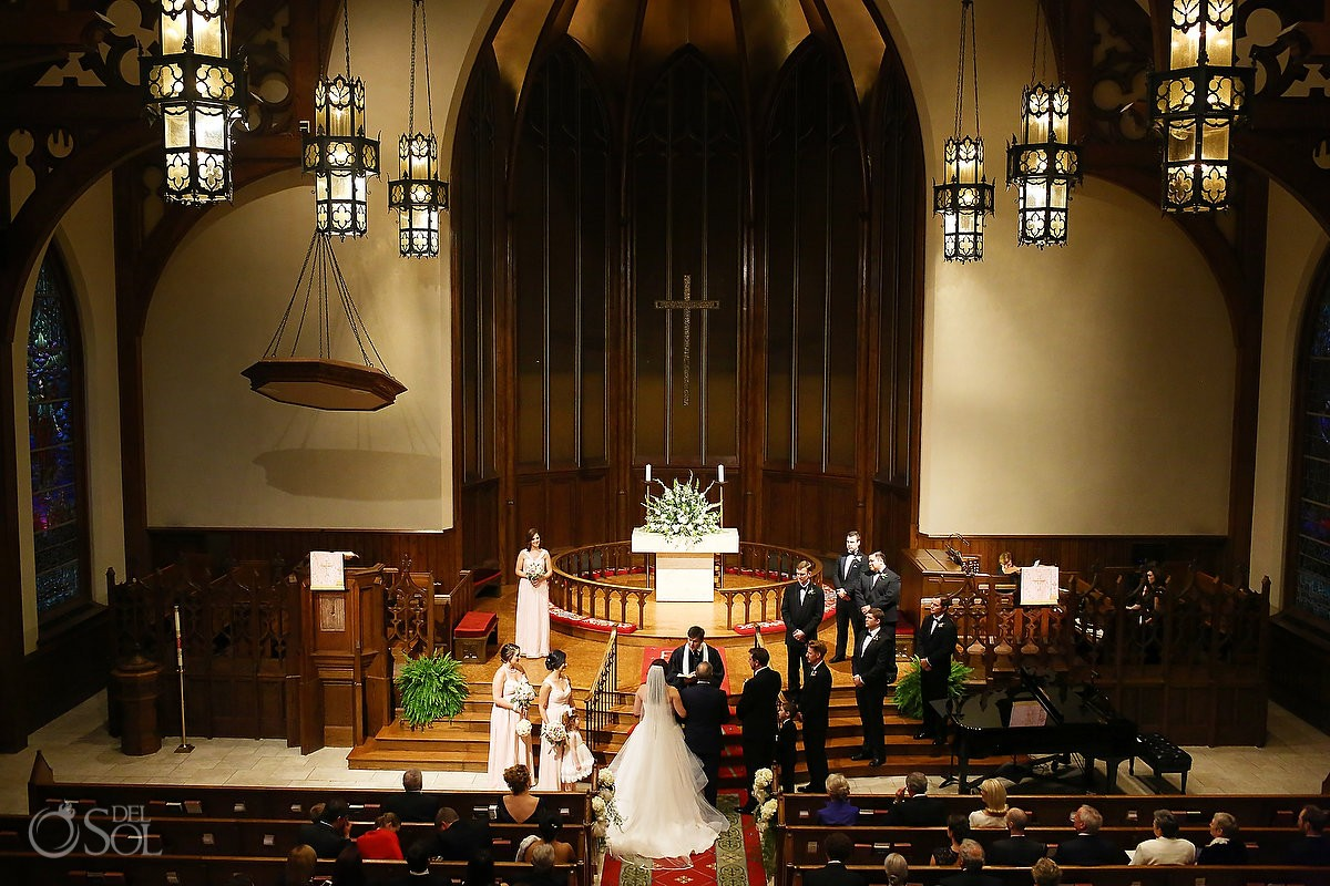 Wedding at Mulberry United Methodist Church, Macon, Georgia