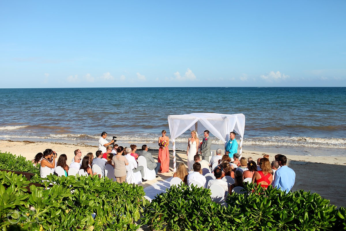 Now Sapphire Beach wedding, Riviera Cancun, Riviera Maya, Mexico
