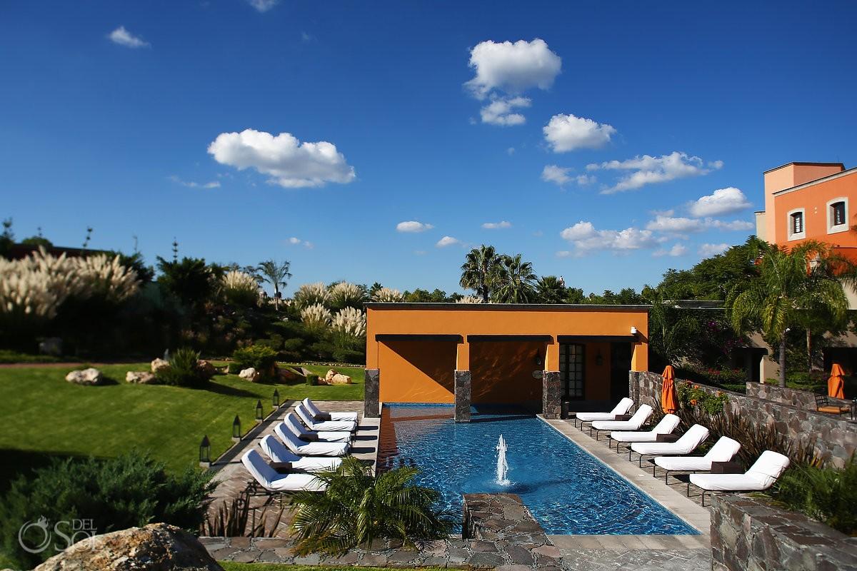 pool gardens Rosewood Hotel San Miguel de Allende