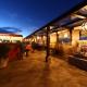 La Luna tapas bar restaurant Rosewood, San Miguel de Allende, Mexico, sunset night