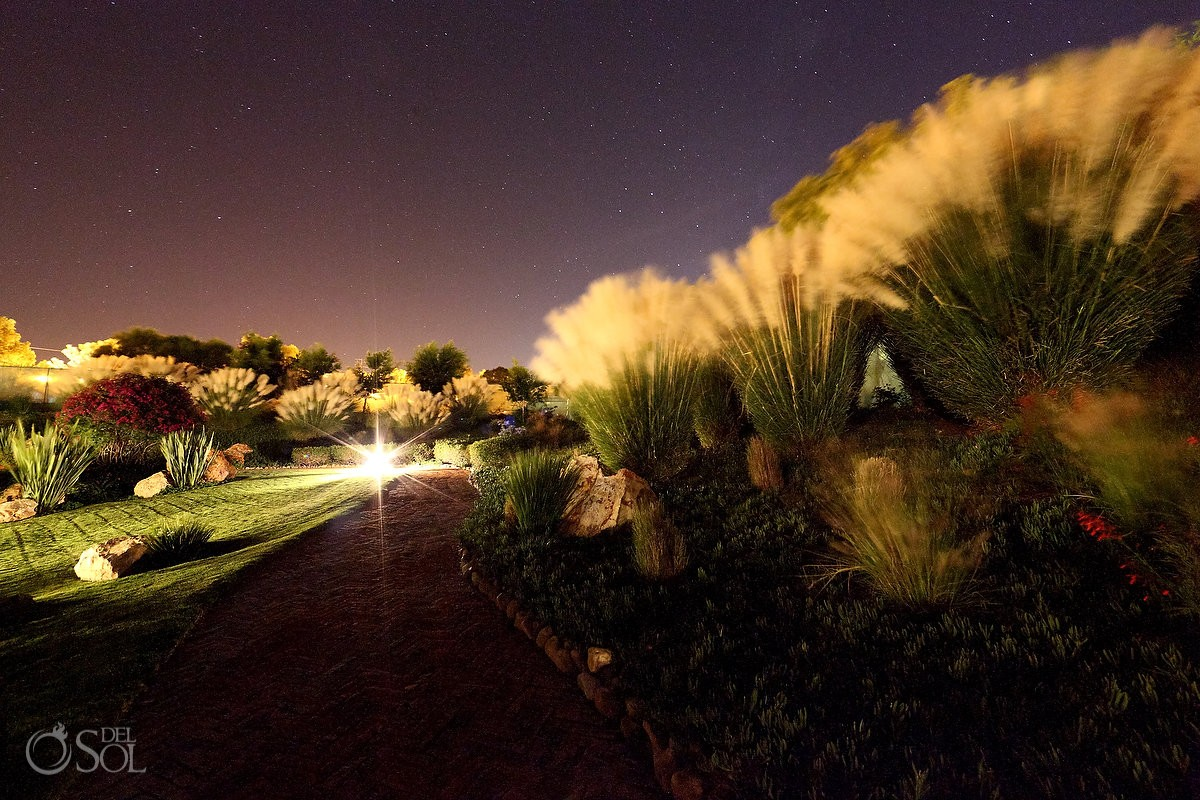 gardens night sky stars Rosewood Hotel San Miguel de Allende Mexico