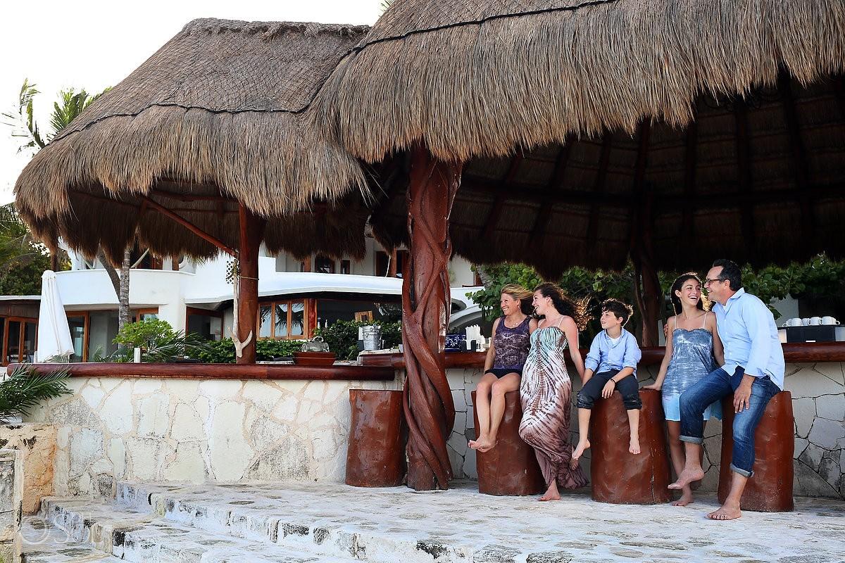 beach Family Portraits Belmond Maroma, Playa del Carmen, Mexico