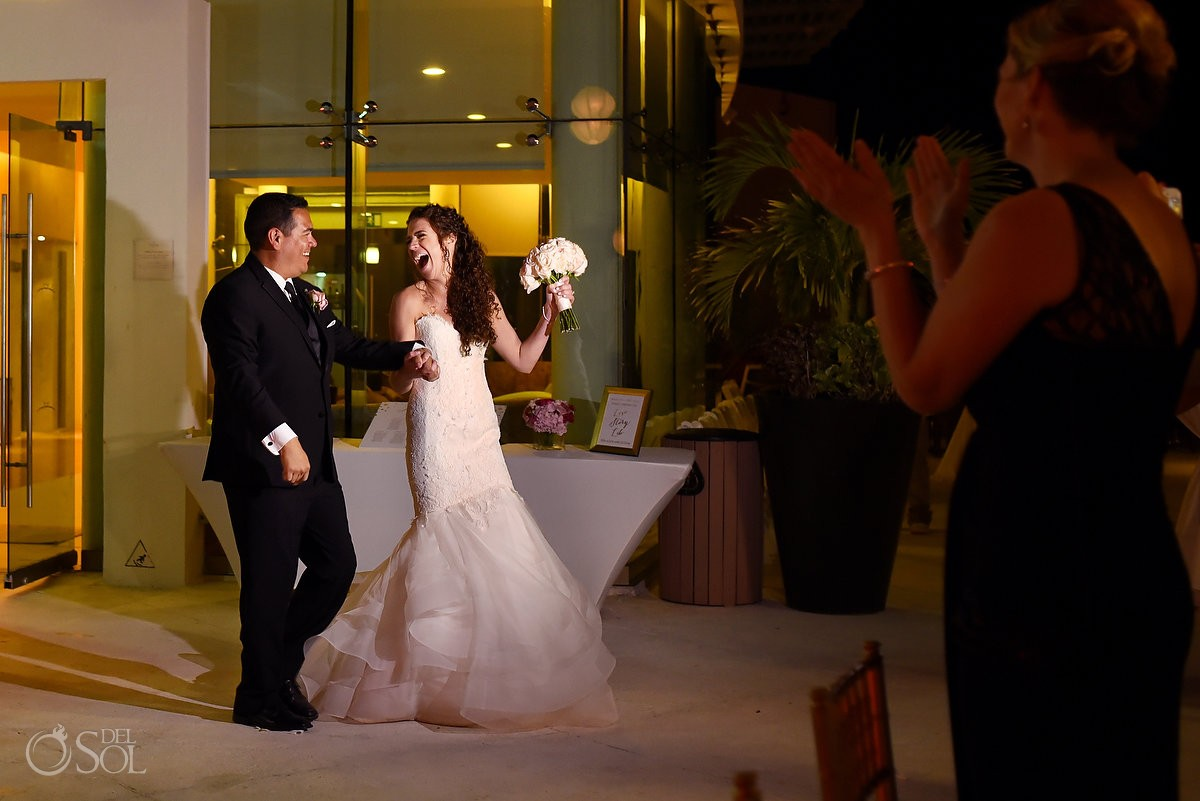 Beach Palace Cancun Wedding Reception