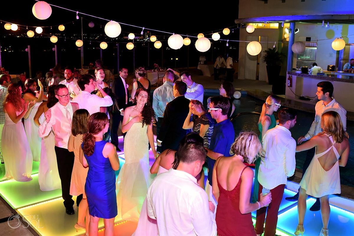 Beach Palace Cancun Wedding dance