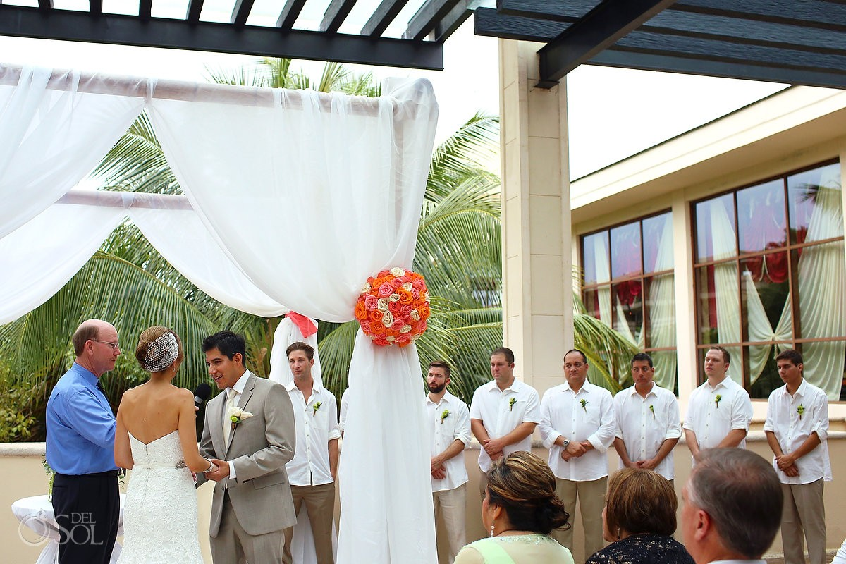 rain Wedding Dreams Riviera Cancun Resort, Mexico