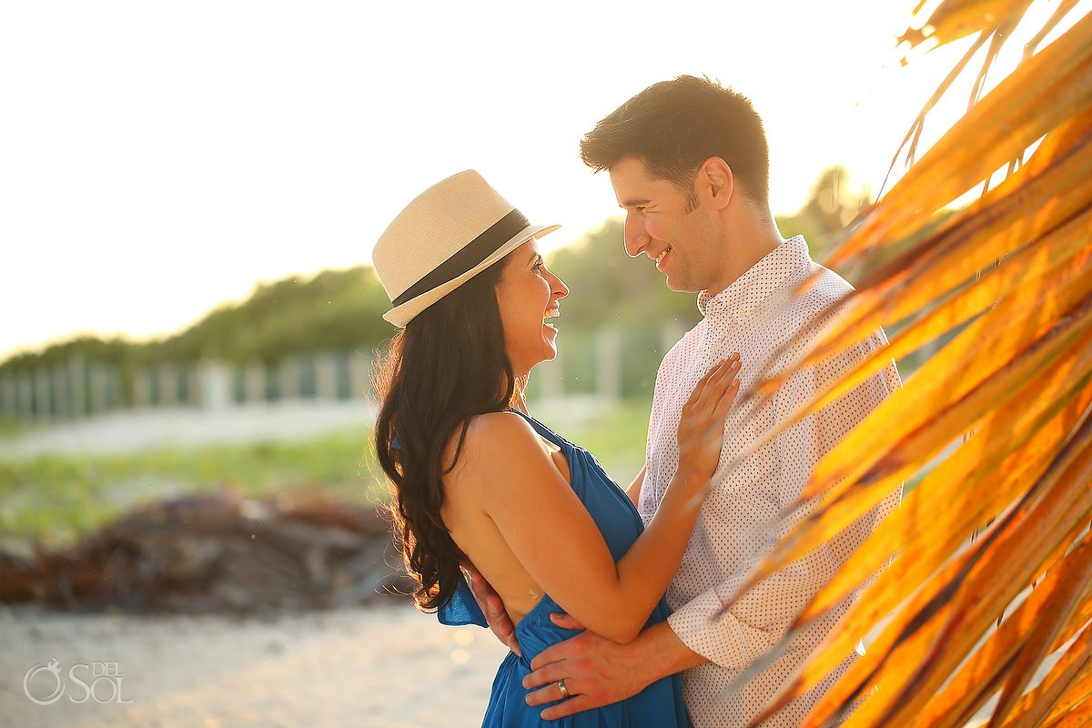 Sunset couple, IntraAwareness Commercial shoot, portraits Isla Blanca, Cancun