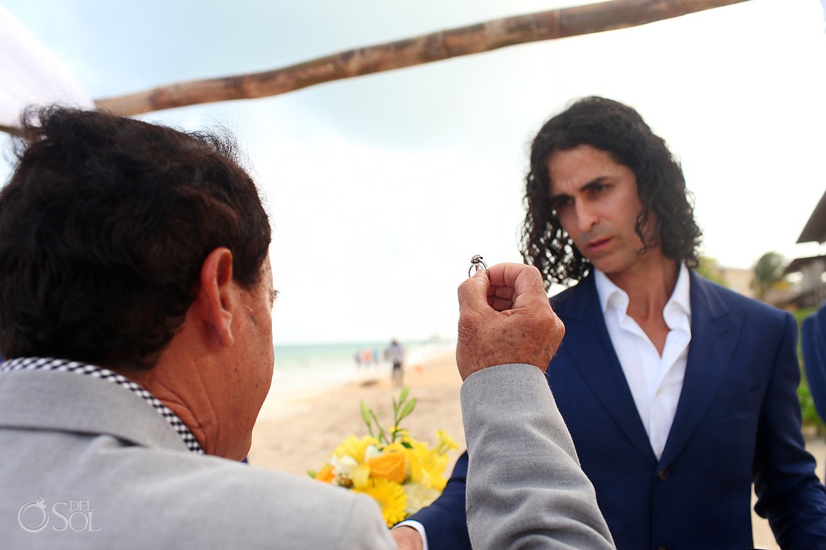 ring blessing Wedding Now Sapphire Riviera Cancun, Riviera Maya, Mexico