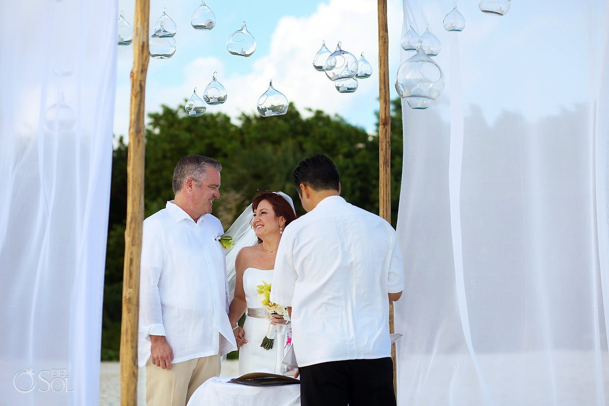 Beach Wedding Elopement Paradisus, Playa del Carmen, Mexico
