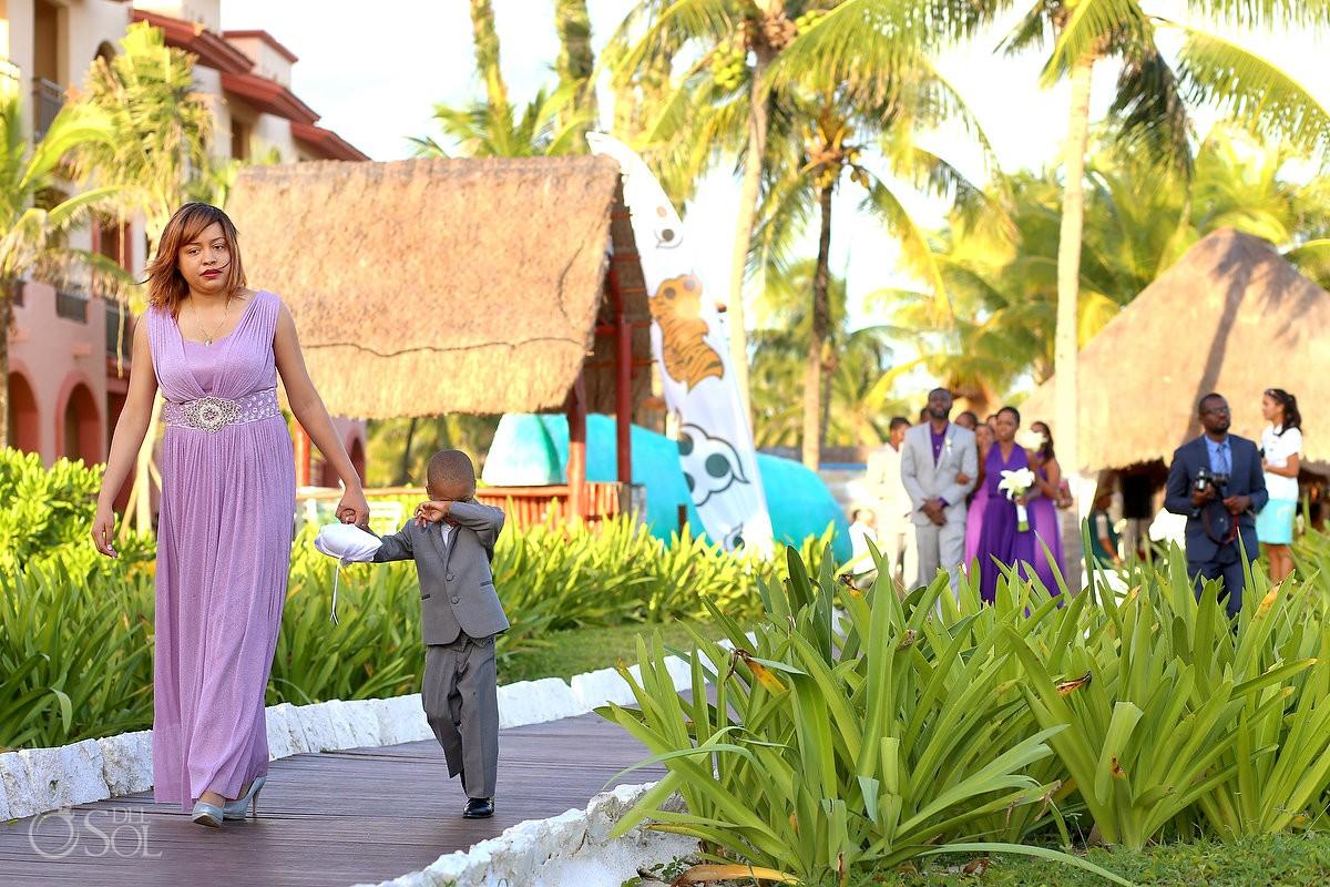 Destination Wedding at Sandos Playacar - Gigi and Emmanuel