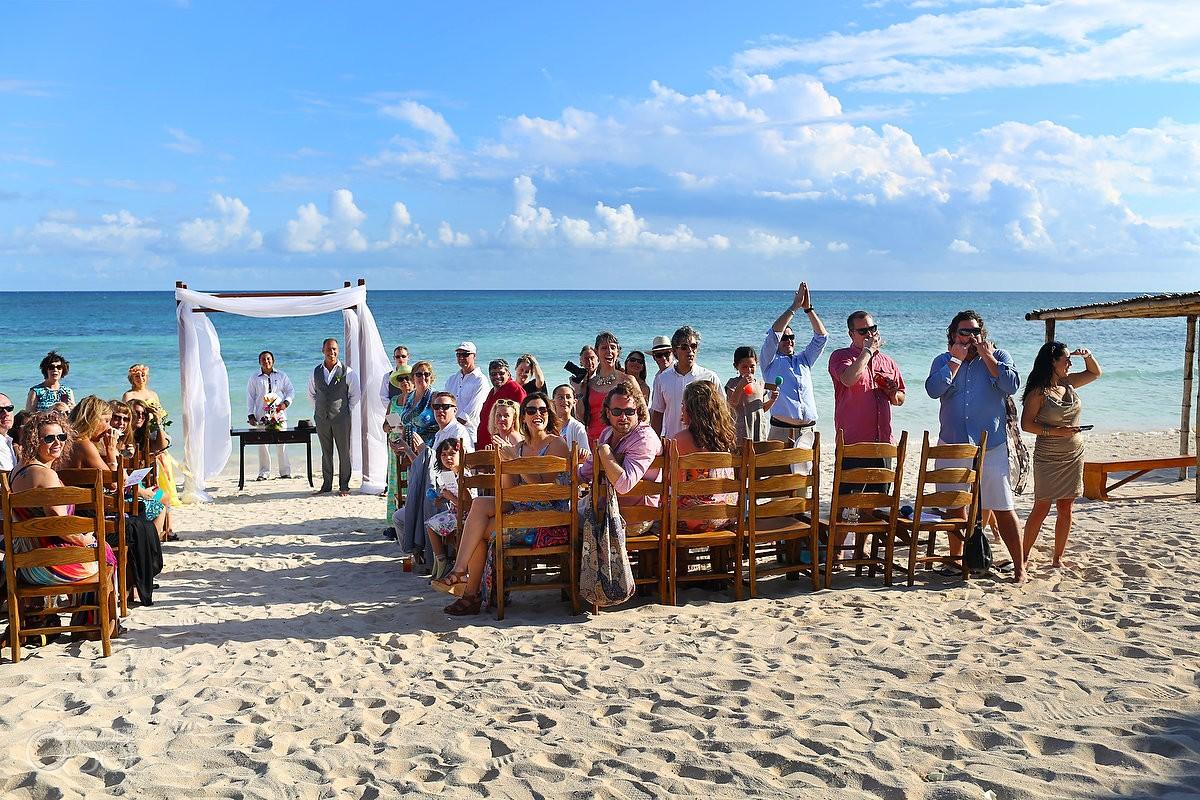 wedding ceremony akumal bay hotel