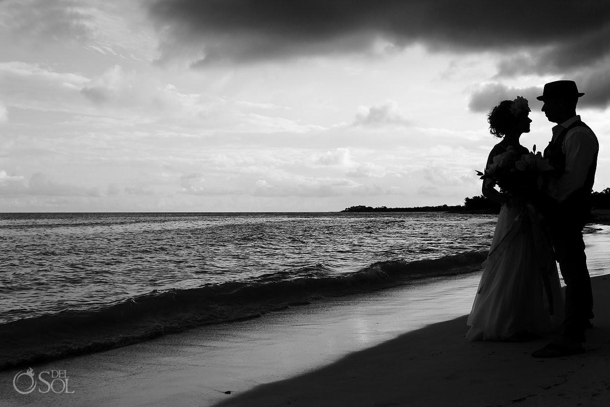 Akumal Bay hotel beach wedding del sol photography