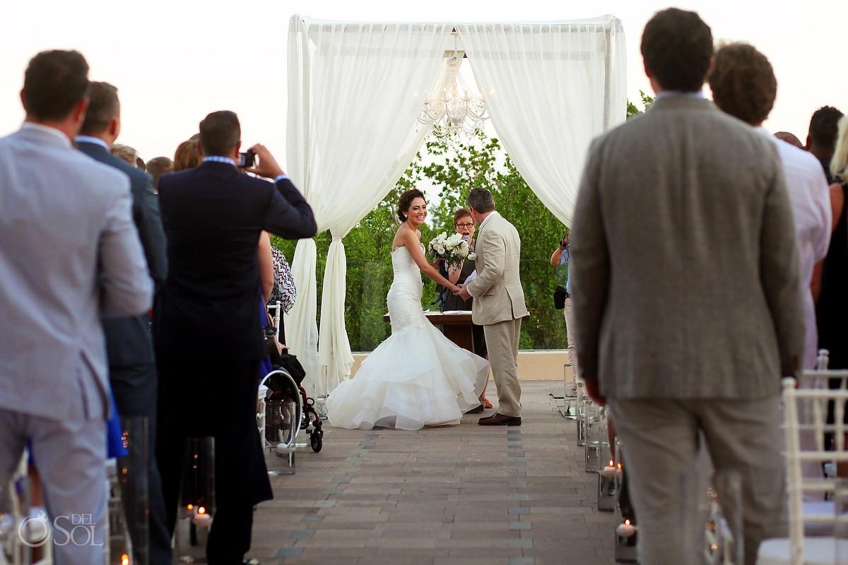 Gazebo Wedding Banyan Tree Mayakoba, Riviera Maya, Mexico