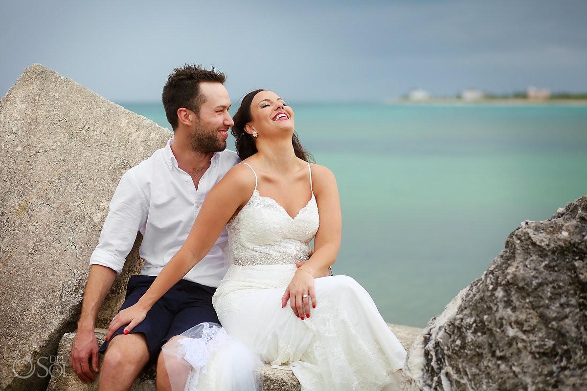 Now Jade Beach Wedding - Michelle and Brady