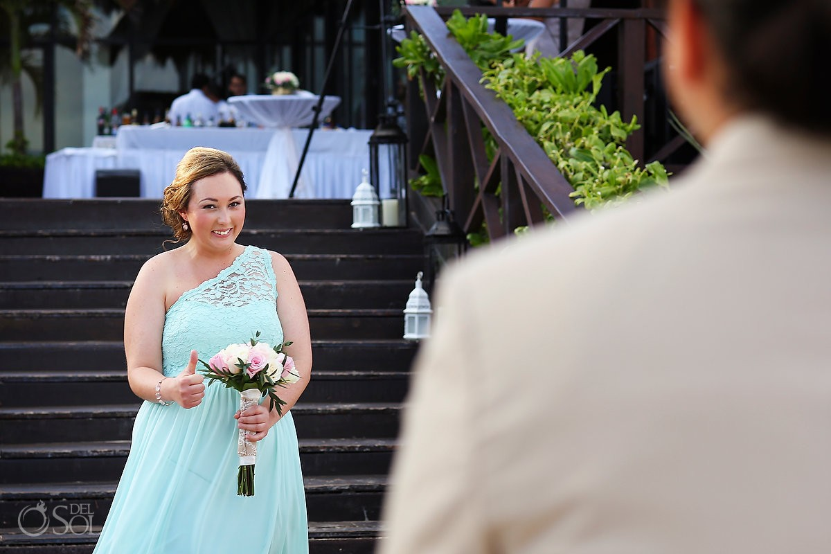 destination wedding processional at Now Sapphire Riviera Cancun, Riviera Maya