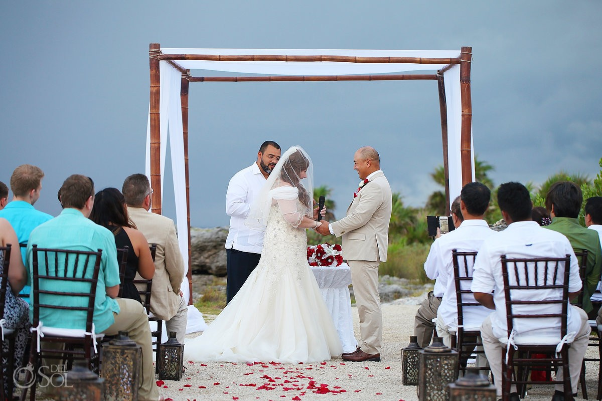 Beach Wedding Occidental Grand Xcaret Playa Del Carmen Mexico