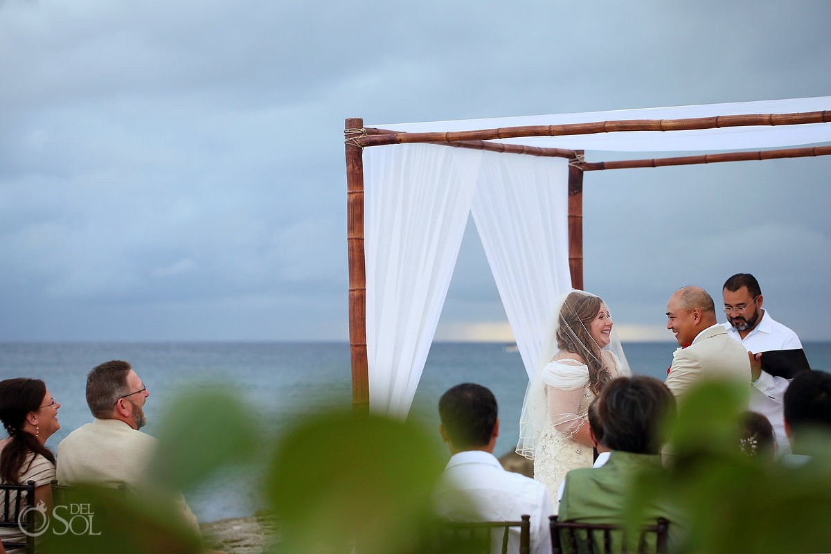 beach Wedding Occidental Grand Xcaret, Playa del Carmen, Mexico