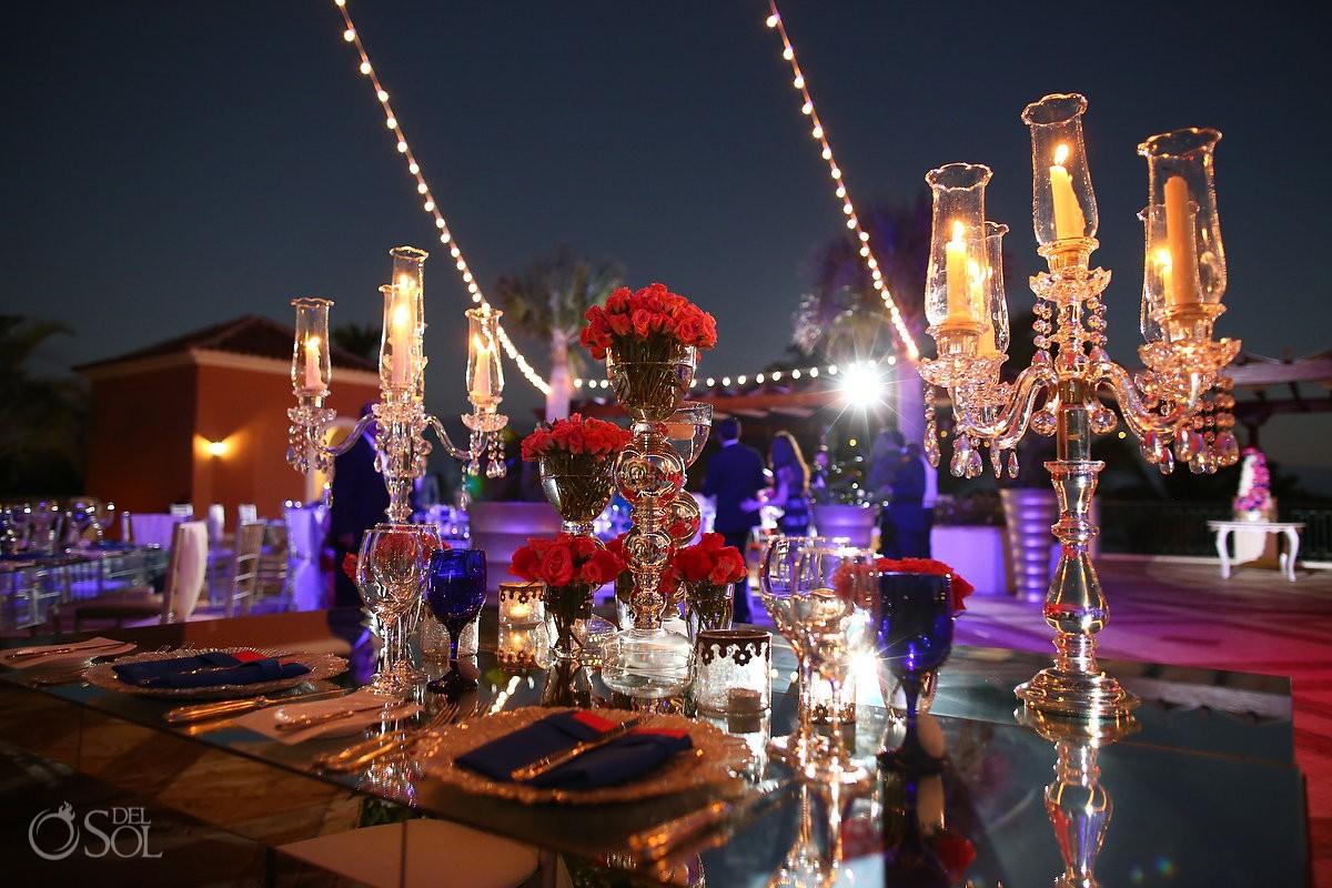 Persian wedding reception deails, Sanctuary Cap Cana Resort, Dominican Republic