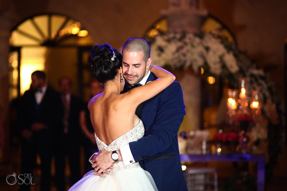 first dance, wedding reception, Sanctuary Cap Cana Resort, Dominican Republic