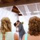 first kiss beach Wedding at Secrets Akumal, Riviera Maya, Mexico