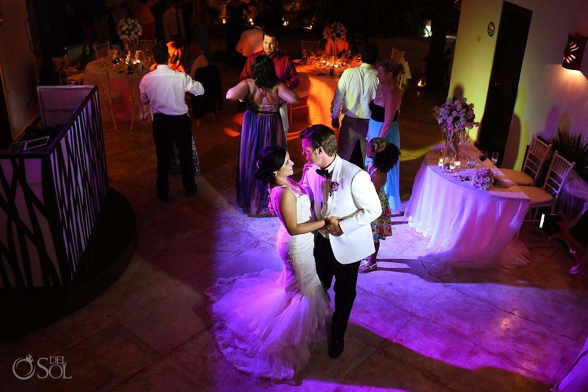 bride groom dancing, palapa jack, Wedding reception Hacienda Del Secreto, Riviera Maya, Mexico