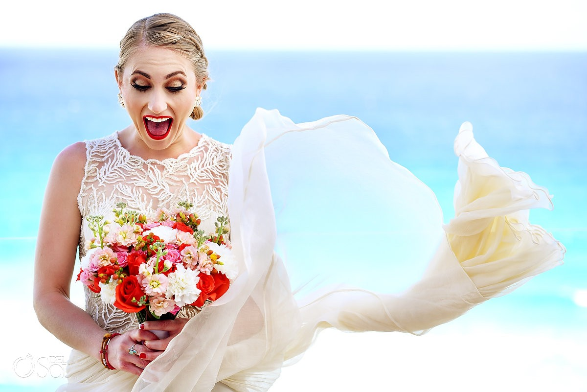 ME by Melia - Cancun Beach Wedding - Nicole and Dave - Del Sol ...
