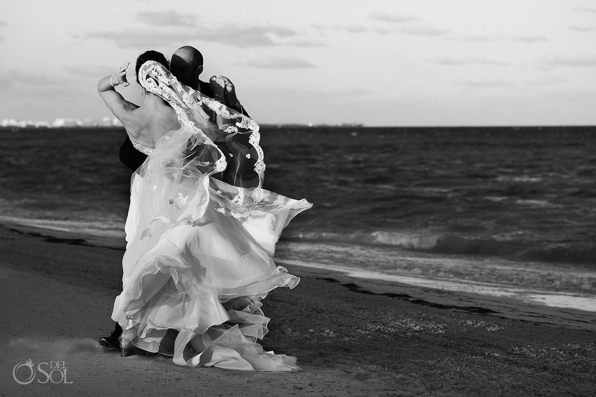 Moon Palace Beach Wedding - Anne and Jeb - Del Sol Photography