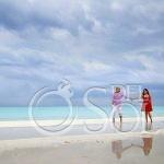 Playa del Carmen Engagement Session in the Rain #Aworlofitsown