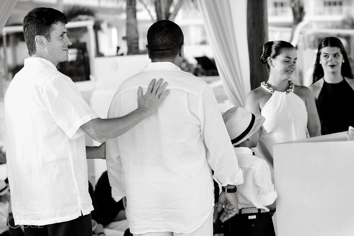 destination wedding guests at Porto Fino condos cancun