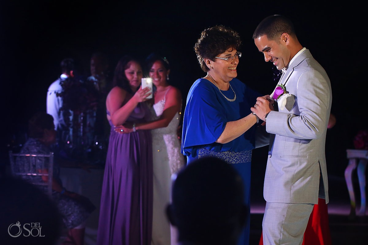 mother son first dance wedding reception Grand Coral Golf Camp