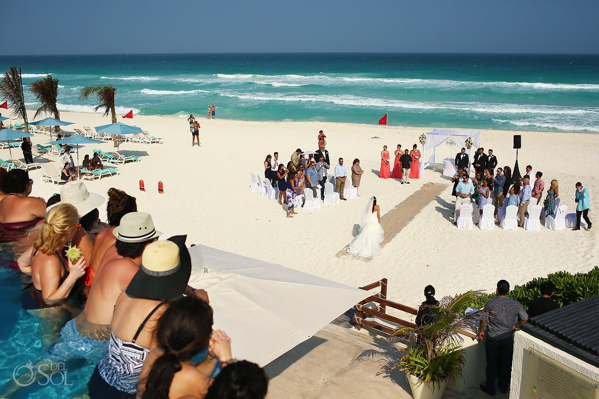 live aqua cancun beach wedding live aqua cancun beach wedding