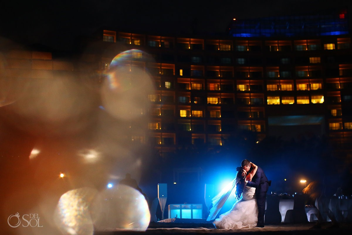 creative destination wedding portrait reception Live Aqua Cancun, Mexico