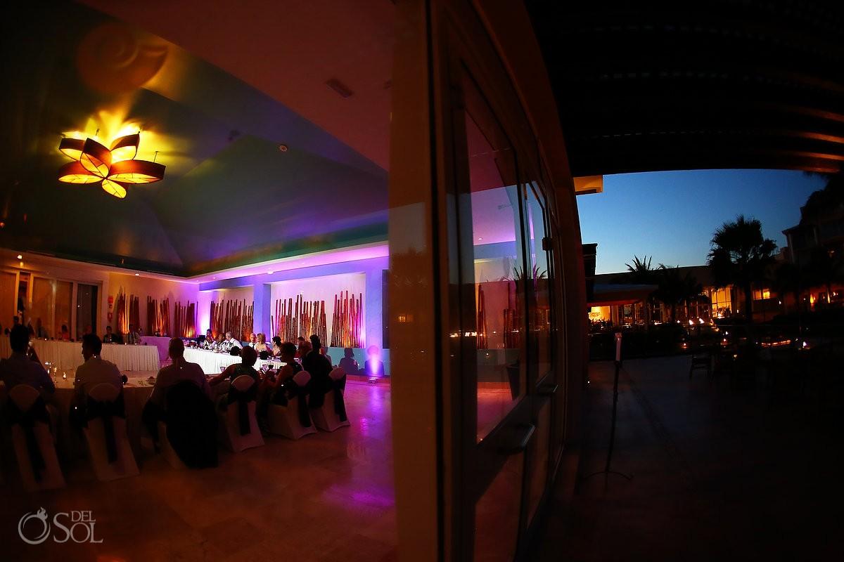 creative night time venue photo Now Jade Bamboo room