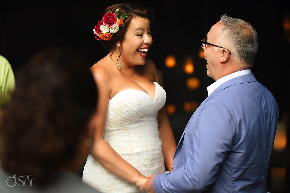 wedding ceremony cenote Chikin Ha