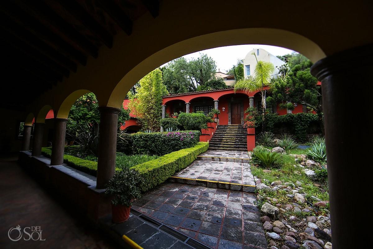 courtyard Belmond Casa de Sierra Nevada, San Miguel de Allende, Mexico