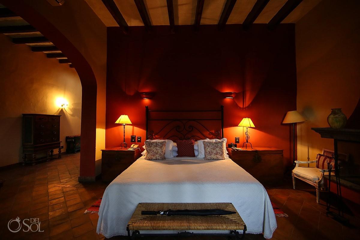 bedroom room Belmond Casa de Sierra Nevada, San Miguel de Allende, Mexico