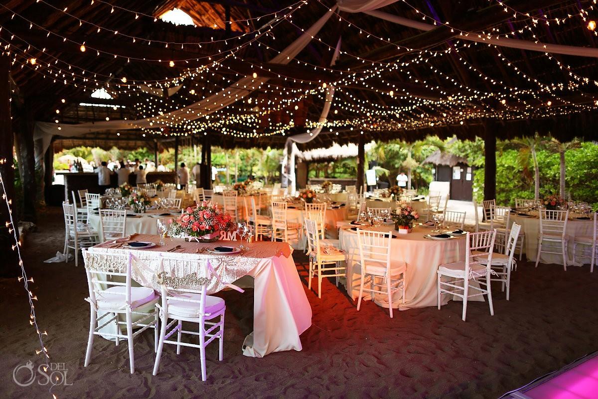 Blue venado beach club riviera maya for Wedding venues open late